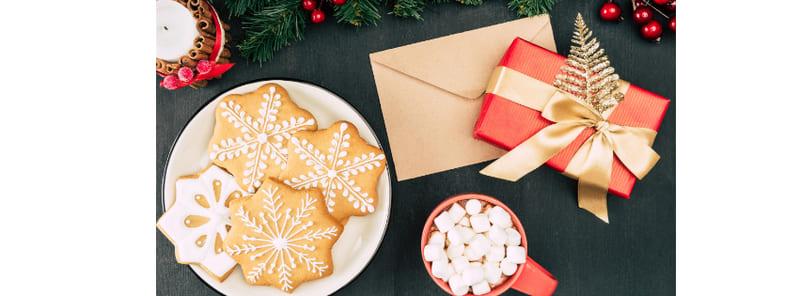 Ilustrar a organização e planeamento da comida e das prendas no natal